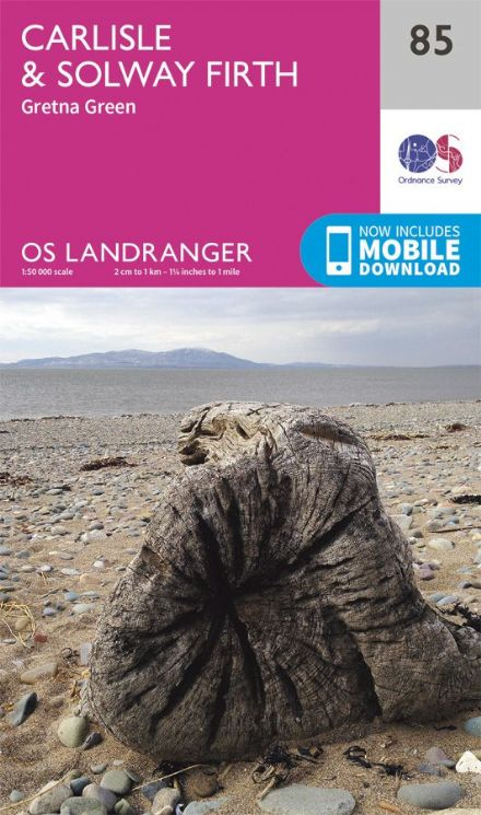 OS Landranger 85 Carlisle and Solway Firth